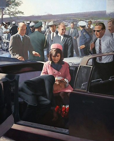 an examination of the motorcade witnesses during the assassination of president john f kennedy