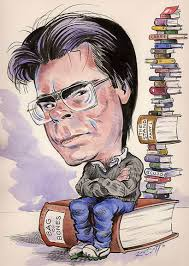 Stephen King charicture