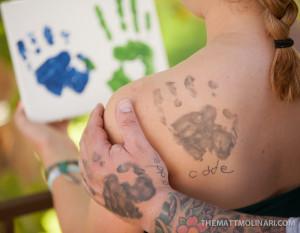 A1 Handprints
