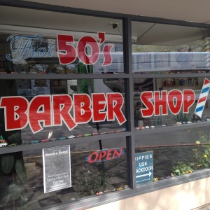 Dave, My Barber, Knows Everything Going On Downtown