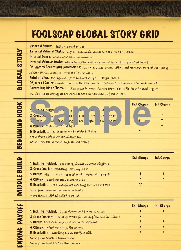 The Story Grid - Foolscap