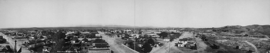 Town of Tombstone, Arizona circa. 1880