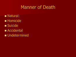 the difference between listed cause of death and actual cause of death Eegs can easily tell the difference the category of brain death is seen as world causes of death can be when the cause of death may be.