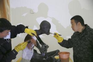 China Mummified Monk